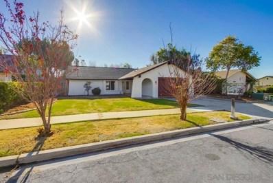 1712 Woodbridge Rd, Escondido, CA 92026 - MLS#: 210001240