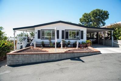 275 S Worthington Ave. SPC UNIT 110, Spring Valley, CA 91977 - MLS#: 210002717