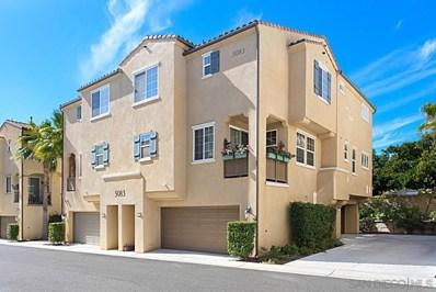 5083 Tranquil Way UNIT 104, Oceanside, CA 92057 - MLS#: 210004879