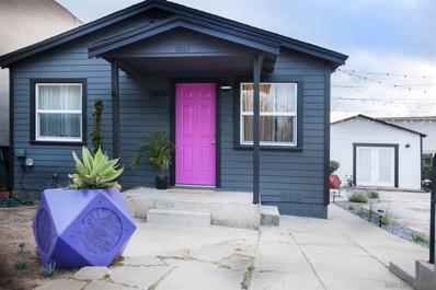 1869 Newton Ave, San Diego, CA 92113 - MLS#: 210007798
