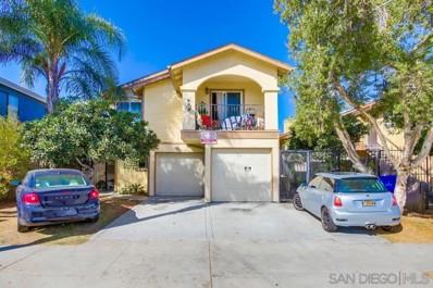 4224 46th Street UNIT 5, San Diego, CA 92115 - MLS#: 210009224