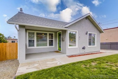 3737 King, La Mesa, CA 91941 - MLS#: 210010532