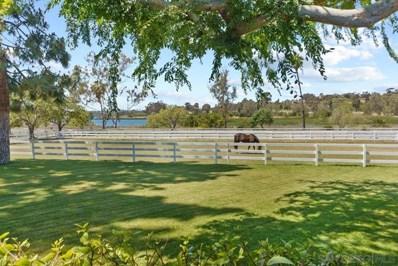6685 Lago Lindo, Rancho Santa Fe, CA 92067 - MLS#: 210011088