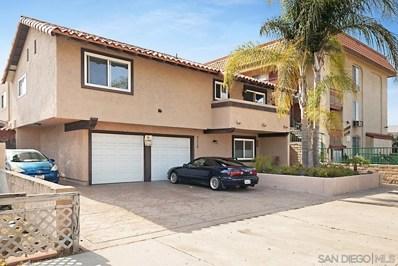 4220 41St St UNIT 6, San Diego, CA 92105 - MLS#: 210012598