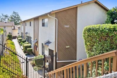 3607 51st UNIT F, San Diego, CA 92105 - MLS#: 210018889