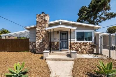 152 Emerson St, Chula Vista, CA 91911 - MLS#: 210019706
