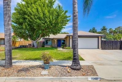 1042 Nightingale Pl, Escondido, CA 92027 - MLS#: 210020804