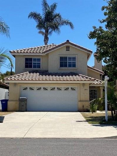 843 Emory Street, Imperial Beach, CA 91932 - MLS#: 210021085