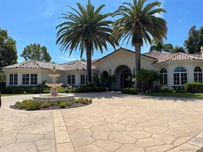 14175 Dalia Drive, Rancho Santa Fe, CA 92067 - MLS#: 210021764
