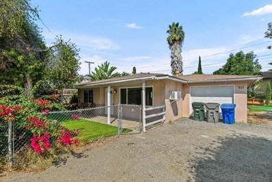 511 W California Ave, Vista, CA 92083 - MLS#: 210023931