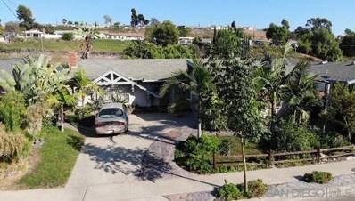 1633 SAN ALTOS PL, Lemon Grove, CA 91945 - MLS#: 210025958