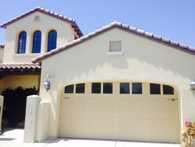 322 Via Napoli, Cathedral City, CA 92234 - MLS#: 214020926DA
