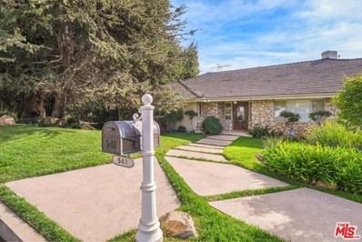 548 Amalfi Drive, Pacific Palisades, CA 90272 - MLS#: 21693824