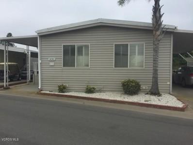 5540 5th Street UNIT 133, Oxnard, CA 93035 - MLS#: 217003085