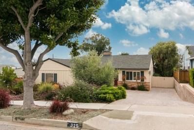 325 Shamrock Drive, Ventura, CA 93003 - MLS#: 217009513