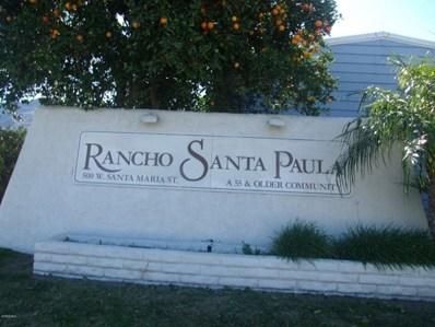 500 Santa Maria Street UNIT 20, Santa Paula, CA 93060 - MLS#: 217010011