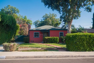 14233 Califa Street, Sherman Oaks, CA 91401 - MLS#: 217010678