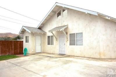 116 El Medio Street, Ventura, CA 93001 - MLS#: 217013461