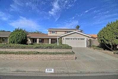 559 Calle Higuera, Camarillo, CA 93010 - MLS#: 217014350