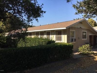 1211 Cruzero Street, Ojai, CA 93023 - MLS#: 217014684