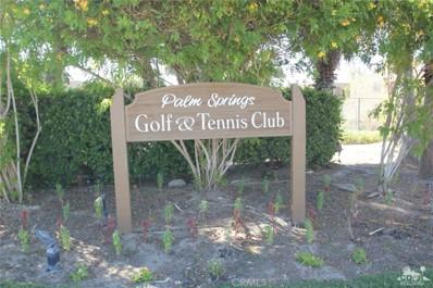 5300 Waverly Drive UNIT F22, Palm Springs, CA 92264 - MLS#: 217018162DA