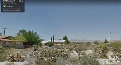 61978 Sunburst Circle, Joshua Tree, CA 92252 - MLS#: 217024414DA