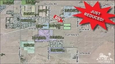 10 Ac W Bennett Rd \/ S Dillion Rd, Sky Valley, CA 92254 - MLS#: 217027384DA