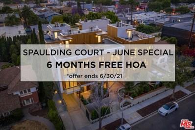 1041 N Spaulding Avenue UNIT 204, Los Angeles, CA 90046 - MLS#: 21704768