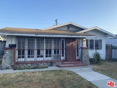 1738 W 43Rd Place, Los Angeles, CA 90062 - MLS#: 21730122