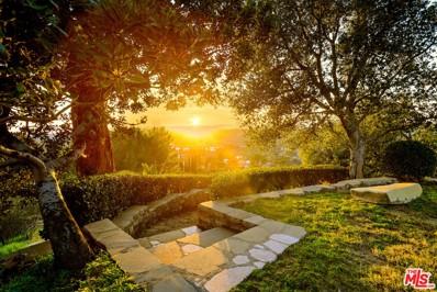 2601 Summitridge Drive, Beverly Hills, CA 90210 - MLS#: 21742770