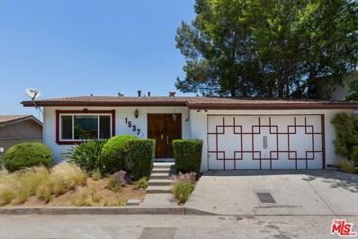 1537 Silverwood Drive, Los Angeles, CA 90041 - MLS#: 21746684