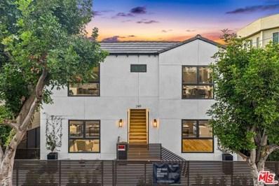 249 N Bonnie Brae Street UNIT 3, Los Angeles, CA 90026 - MLS#: 21757226