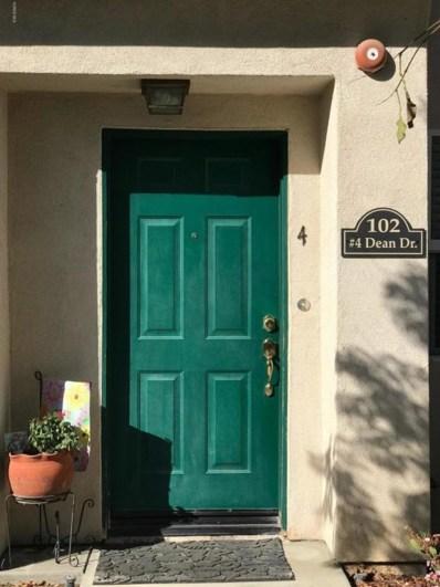 102 Dean UNIT 4, Santa Paula, CA 93060 - MLS#: 218001319