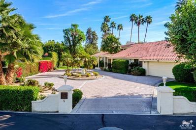 5 Clancy Lane Lane, Rancho Mirage, CA 92270 - MLS#: 218001516DA