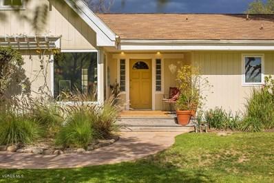 1015 El Roblar Drive, Ojai, CA 93023 - MLS#: 218001758