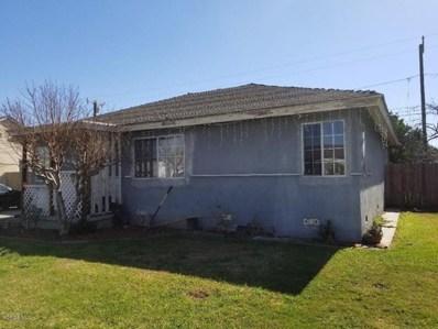 344 Juniper Street, Oxnard, CA 93033 - MLS#: 218002294