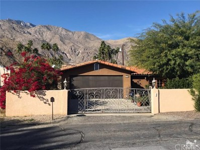 495 Calle Santa Rosa, Palm Springs, CA 92262 - MLS#: 218002716DA