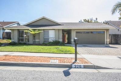 326 Heidelberg Avenue, Ventura, CA 93003 - MLS#: 218003012