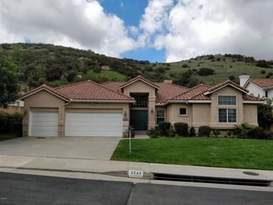2243 Kirsten Lee Drive, Westlake Village, CA 91361 - MLS#: 218003598