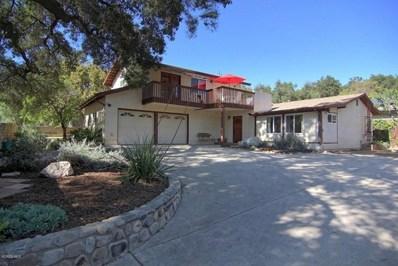 460 El Conejo Drive, Ojai, CA 93023 - MLS#: 218003664