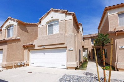 647 Cardinal Ridge Lane UNIT B, Simi Valley, CA 93065 - MLS#: 218003780