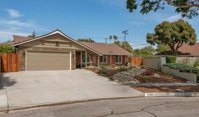 5497 Queens Street, Ventura, CA 93003 - MLS#: 218003796