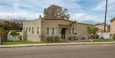 633 Cedar Street, Ventura, CA 93001 - MLS#: 218003897