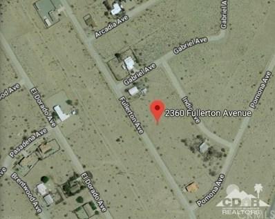 2360 Fullerton Avenue, Thermal, CA 92274 - MLS#: 218004120DA