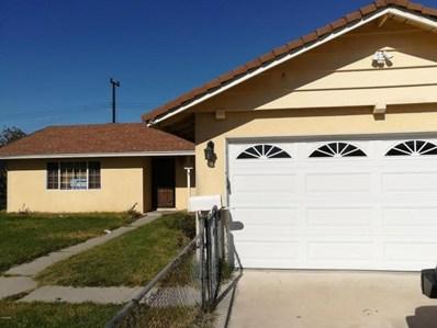 3121 Mendocino Place, Oxnard, CA 93033 - MLS#: 218004936