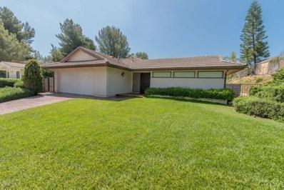 1766 Calle Zocalo, Thousand Oaks, CA 91360 - MLS#: 218005036
