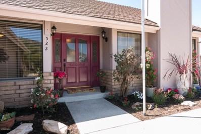 522 Stonehedge Drive, Fillmore, CA 93015 - MLS#: 218005180