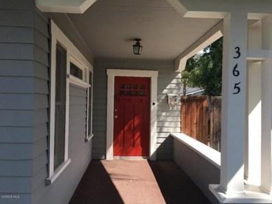 365 Blaine Avenue, Fillmore, CA 93015 - MLS#: 218005432