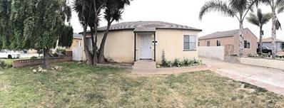 160 Cedar Street, Oxnard, CA 93033 - MLS#: 218005636