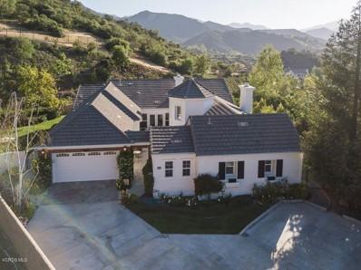 1686 Sycamore Canyon Drive, Westlake Village, CA 91361 - MLS#: 218005884